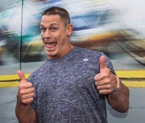 John Cena at 2016 Daytona 500