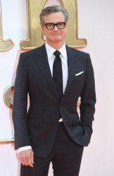 Colin Firth attends the premiere of Kingsman: The Golden Circle in London.