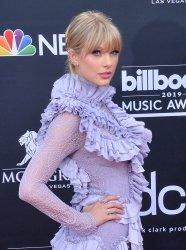 Taylor Swift attends the 2019 Billboard Music Awards in Las Vegas