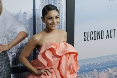 Vanessa Hudgens at World Premiere of 'Second Act' in New York