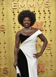Viola Davis attends Primetime Emmy Awards in Los Angeles