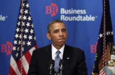 Obama Addresses Business Roundtable In Washington