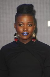 """Lupita Nyong'o attends the European Premiere of """"Star Wars - The Force Awakens"""" in London"""