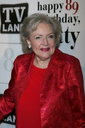 Betty White arrives for Betty White's 89th Birthday Party in New York