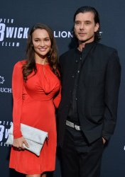 """Gavin Rossdale and Natalie Golba attend the """"John Wick: Chapter 3 - Parabellum"""" screening in Los Angeles"""