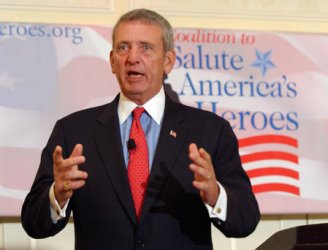 FRANKS LENDS SUPPORT TO VETERANS AID ORGANIZATION