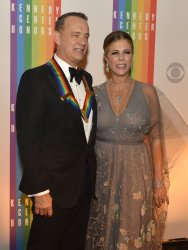 Actor Tom Hanks arrives for Kennedy Center Honors Gala in Washington DC