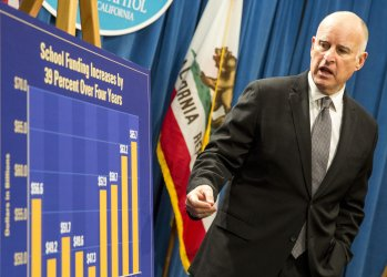 California Governor Jerry Brown Introduces his Record Budget