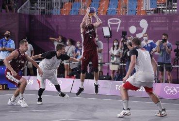 Latvia Wins Gold in Mens 3X3 Basketball at Tokyo Olympics