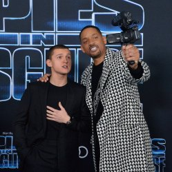 """Tom Holland and Will Smith attend the """"Spies in Disguise"""" premiere in Los Angeles"""