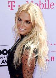 Britney Spears attends the Billboard Music Awards in Las Vegas