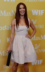 Poppy Montgomery attends the Women in Film Crystal + Lucy Awards in Beverly Hills, California