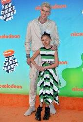 Machine Gun Kelly attends Kids' Choice Awards 2019