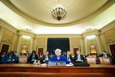 Fed Chair Yellen testifies on the Economic Outlook in Washington, D.C.