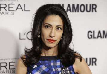 Huma Abedin arrives at Glamour Woman of the Year Awards