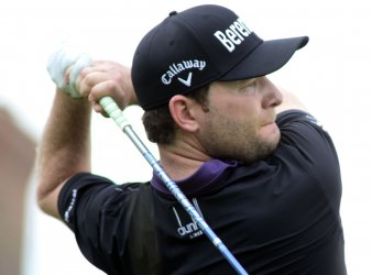 Branden Grace plays at the U.S. Open Golf Champion