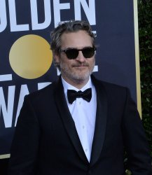 Joaquin Phoenix attends the 77th Golden Globe Awards in Beverly Hills