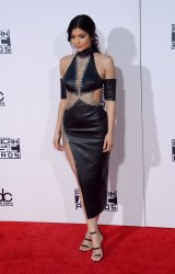 Kylie Jenner attends the 43rd annual American Music Awards in Los Angeles
