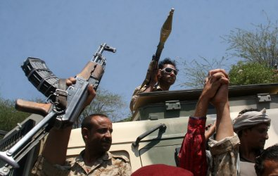 A Saudi-led Alliance Mounted a Series of Airstrikes Against Military Facilities of Yemen's Houthi
