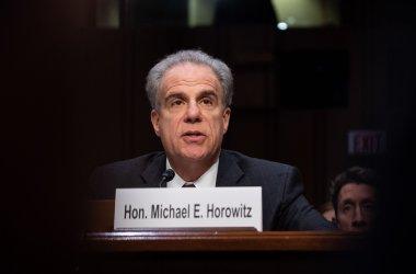 Michael Horowitz testifies on Capitol Hill