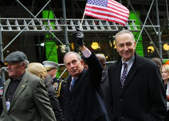 Thousands march in the Annual Veterans Day Parade in New York