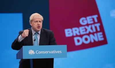 Boris Johnson gives keynote speech at Party Conference