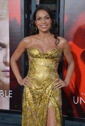 "Rosario Dawson attends the ""Unforgettable"" premiere in Los Angeles"