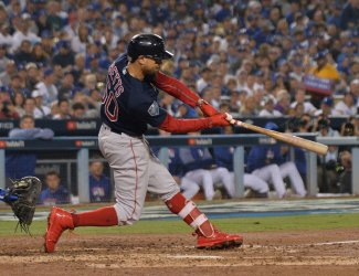 Red Sox Mookie Betts homers in the World Series win