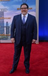 """Jon Favreau attends the """"Spider-Man: Homecoming"""" premiere in Los Angeles"""