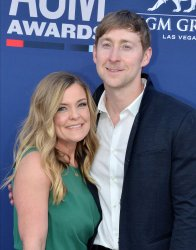 Mandy Gorley and Ashley Gorley attend the Academy of Country Music Awards in Las Vegas