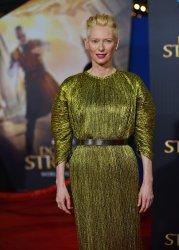 Tilda Swinton attends 'Doctor Strange' world premiere