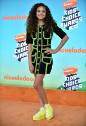 Scarlet Spencer attends Kids' Choice Awards 2019
