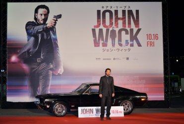 """""""John Wick"""" Premiere in Tokyo"""