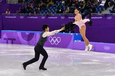 Pair Free Skating at the Pyeongchang 2018 Winter Olympics