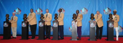 The 2018 Pro Football Hall of Fame inductees