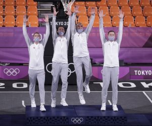 Latvia Wins Gold in Men's 3X3 Basketball at Tokyo Olympics