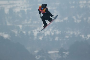 Finland competes in slopestyle in Pyeongchang 2018 Winter Olympics