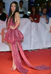 Constance Wu attends 'Hustlers' premiere at Toronto Film Festival