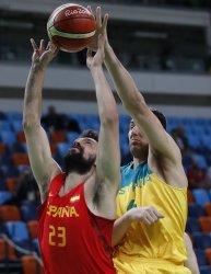 Sergio Llull of Spain at Rio Olympics