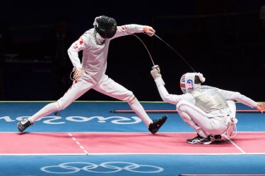 Men's Foil Team Placement at the 2016 Rio Summer Olympics