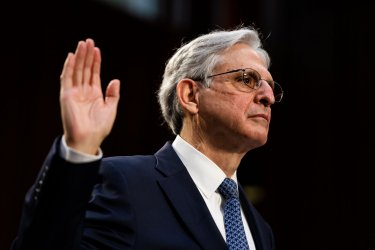 Senate Judiciary Confirmation hearing for Attorney General Nominee Merrick Garland in Washington