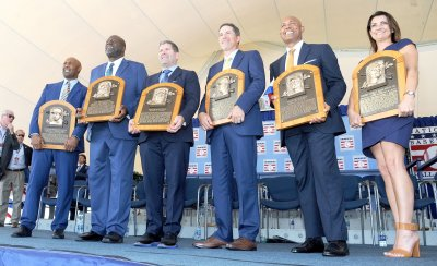 Baseball Hall of Fame induction in Cooperstown