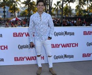 Brandon Larracuente  attends  the US Premiere of Baywatch in Miami Beach, Florida