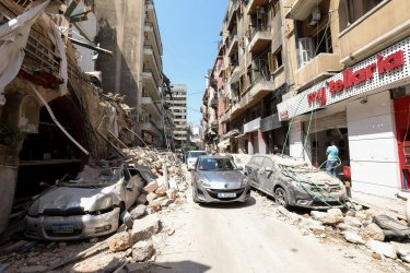 Massive Explosion in Beirut Kills at Least 100 and Injures Thousands