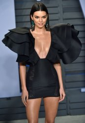 Kendall Jenner attends the Vanity Fair Oscar Party in Beverly Hills