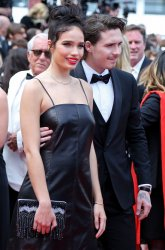Hana Cross and Brooklyn Beckham attend the Cannes Film Festival