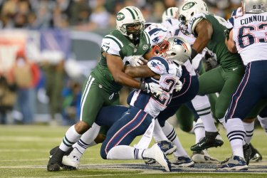 Jets vs Patriots at MetLife Stadium in New Jersey