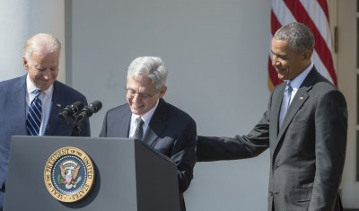 Obama Introduces His Supreme Court Nominee Merrick Garland in the Rose Garden
