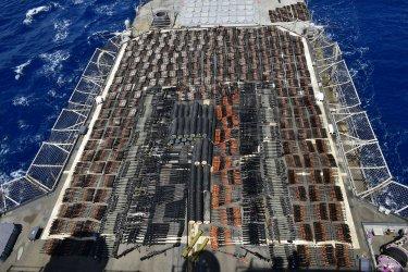 USS Monterey Illicit Weapons Interdiction in Northern Arabian Sea