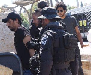 Israeli Police Arrest A Palestinian In East Jerusalem